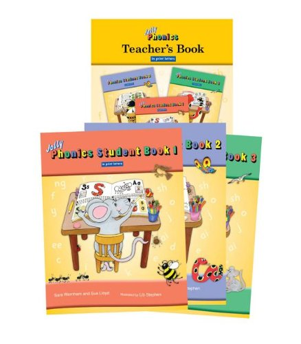 9781844141876: Jolly Phonics Class Set (Colour in Print Letters)