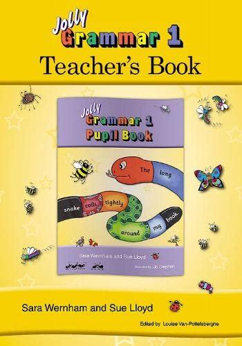 9781844142637: Jolly Grammer 1 Teachers Book