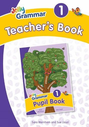 9781844142637: Grammar 1 Teacher's Book: In Precursive Letters (British English edition) (Jolly Grammar 1)