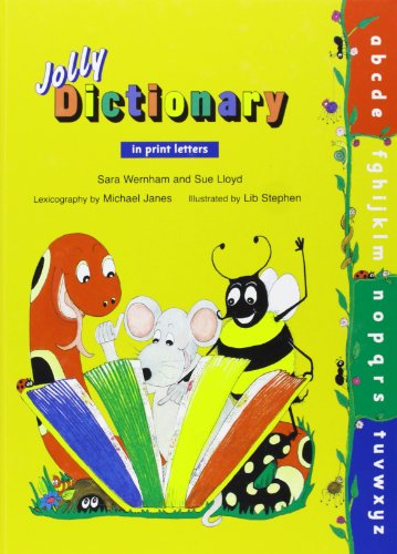 9781844142644: Jolly Dictionary in Print Letters