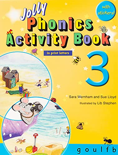 9781844142712: Jolly Phonics Activity Book 3 (in Print Letters)