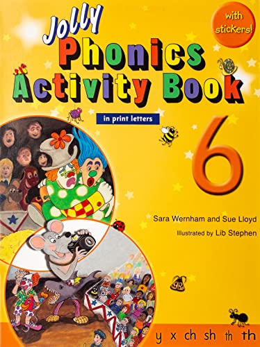 9781844142743: Jolly Phonics Activity Book 6 (in Print Letters)