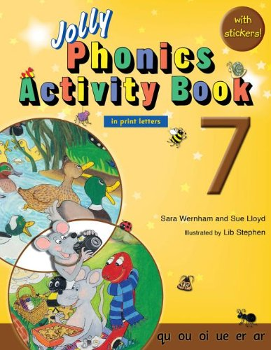9781844142750: Jolly Phonics Activity Book 7 (in Print Letters)