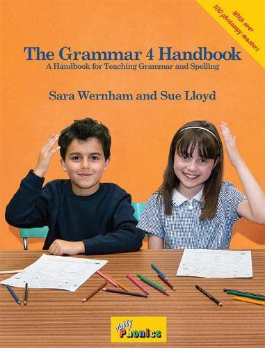 The Grammar 4 Handbook: In Precursive Letters (British English edition): Sara Wernham