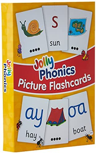 Jolly Phonics Picture Flash Cards: Wernham, Sara