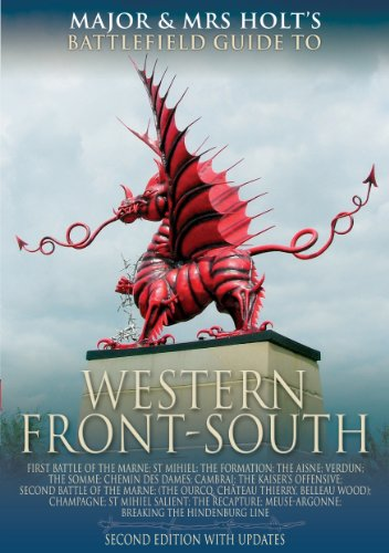 9781844152391: The Western Front - South: Battlefield Guide (Major and Mrs Holt's Battlefield Guides)