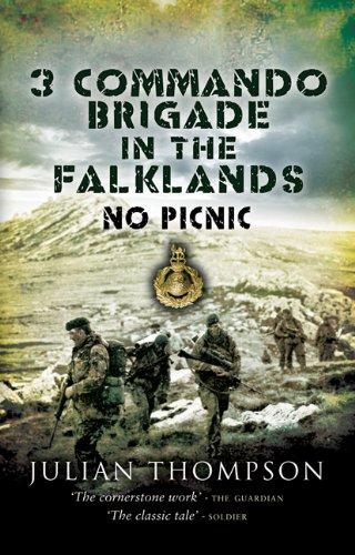 9781844155552: 3 Commando Brigade in the Falklands: No Picnic (Pen & Sword Military)