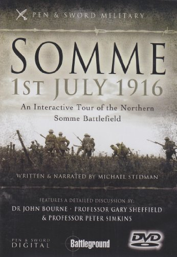 9781844157099: Somme, 1st July 1916: An Interactive Tour of the Northern Somme Battlefield