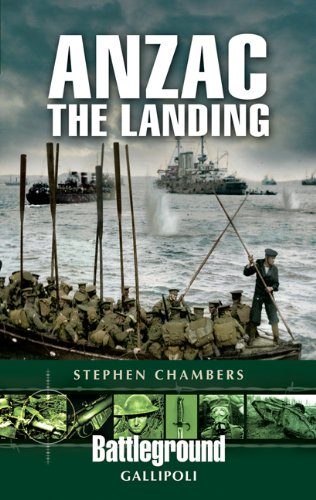 9781844157228: Anzac - The Landing: Gallipoli (Battleground Europe)