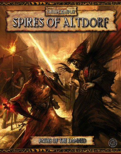 Paths of the Damned: Spires of Altdorf (Warhammer Fantasy Roleplay): David Chart