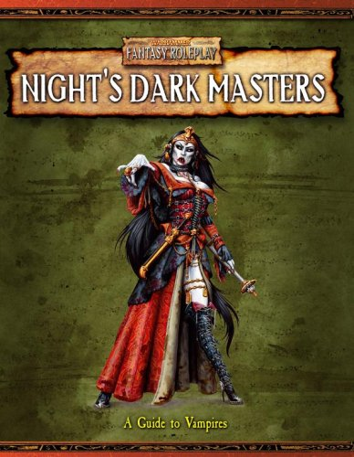9781844163137: Night's Dark Masters: A Guide to Vampires (Warhammer Fantasy Roleplay)
