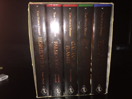 9781844165858: Horus Heresy Box Set: WITH False Gods AND Flight of the Eisenstein AND Fulgrim AND Galaxy in Flames AND Horus Rising