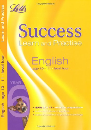 9781844192151: English Age 10-11 Level 4: Learn and Practise (Letts Key Stage 2 Success)