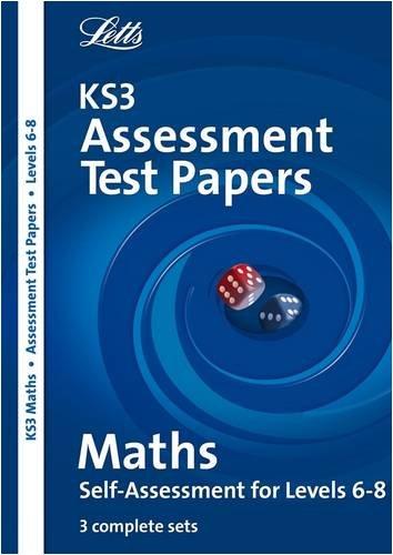 9781844192274: KS3 Assessment Test Papers Maths 6-8