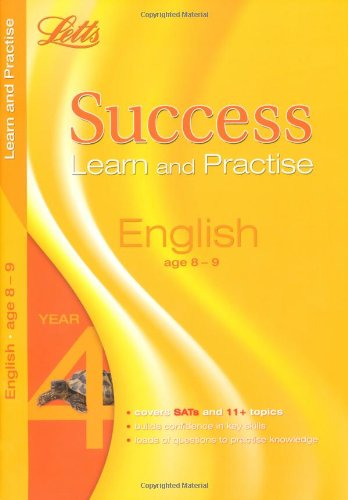 9781844192359: English Age 8-9: Learn and Practise (Letts Key Stage 2 Success)