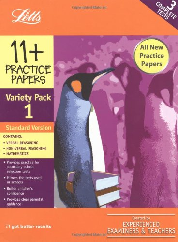 Standard Variety Pack 1: Practice Test Papers (Letts 11+ Success): VARIOUS