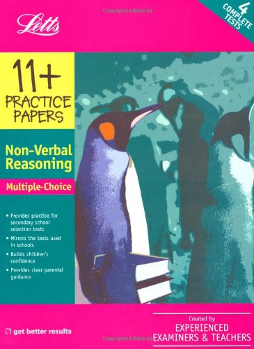 Multiple Choice Non-Verbal Reasoning: Practice Test Papers: VARIOUS