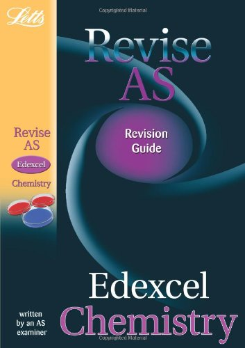 9781844193110: Edexcel Chemistry: Study Guide (Letts AS Success)