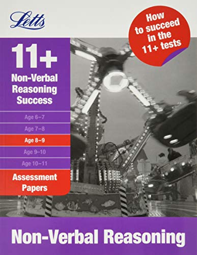 9781844193349: Non-Verbal Reasoning Assessment Papers 8-9 (Success Assessment Papers) (Letts 11+ Success)