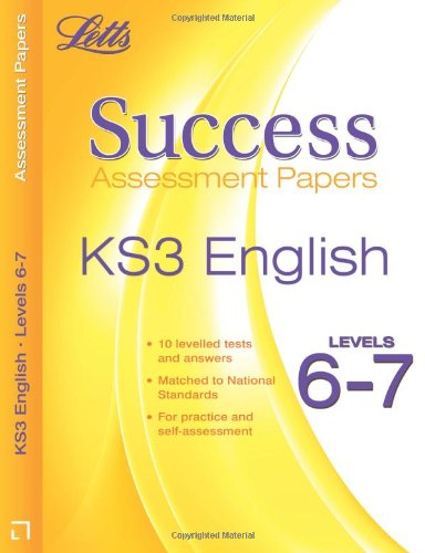 9781844193615: English Levels 6-7: Assessment Papers (Letts Key Stage 3 Success)