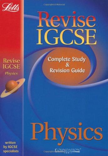 9781844193752: Revise IGCSE Physics Study Guide (Letts Revise IGCSE)