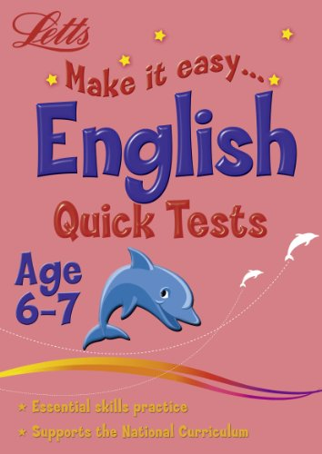 9781844193967: English Age 6-7: Quick Tests (Letts Make it Easy)
