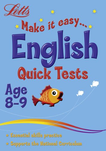 9781844193981: English Age 8-9: Quick Tests (Letts Make It Easy)