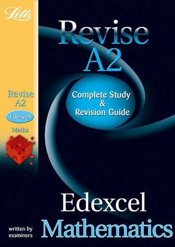 9781844194148: Letts A-level Revision Success – Edexcel Maths: Study Guide