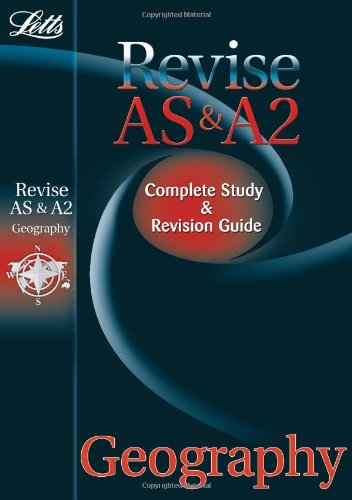 9781844194407: AS and A2 Geography: Study Guide (Letts A Level Success)
