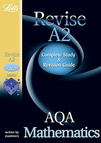 9781844194452: AQA Maths: Study Guide (Letts A2 Success)