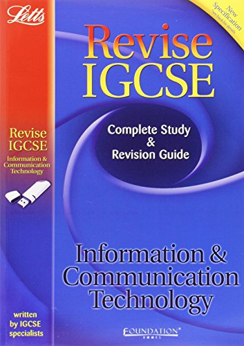 9781844195138: Information and Communication Technology: Study Guide (Letts IGCSE Success)