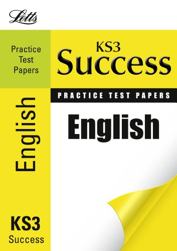 9781844196418: English: Practice Test Papers (Letts Key Stage 3 Success)