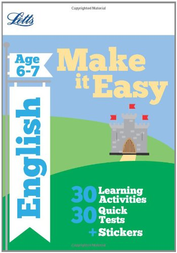 9781844196753: English Age 6-7 (Letts Make It Easy Complete Editions)
