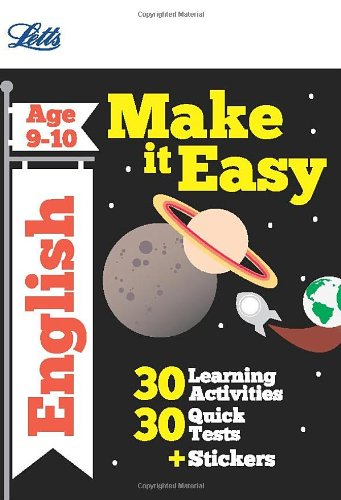 9781844196784: English Age 9-10 (Letts Make It Easy Complete Editions)