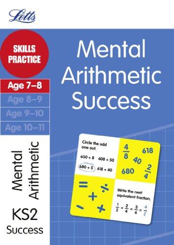 Mental Arithmetic Age 7-8: Skills practice (Letts: Paul Broadbent