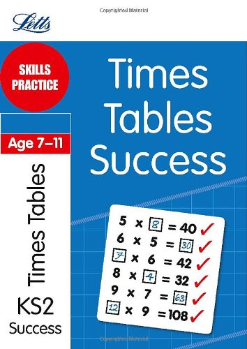 9781844197354: Times Tables Age 7-11: Skills Practice (Letts Key Stage 2 Success)