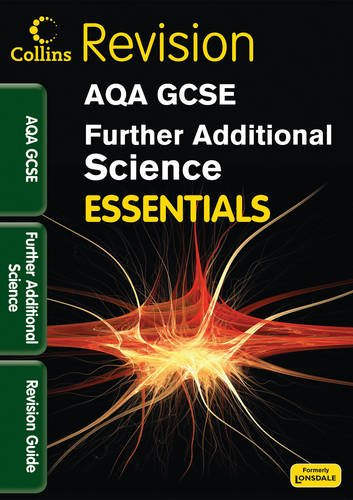 9781844197385: AQA Further Additional Science: Revision Guide (Collins Gcse Essentials)