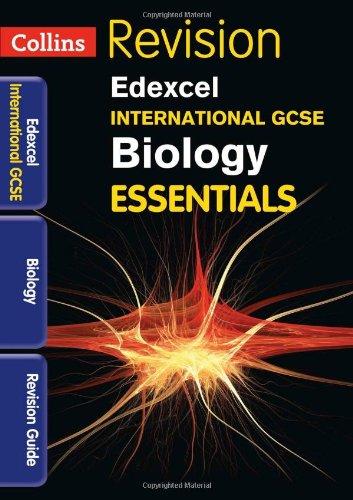 Collins IGCSE Essentials - Edexcel International GCSE Biology: Revision Guide: Winspear, Lynn