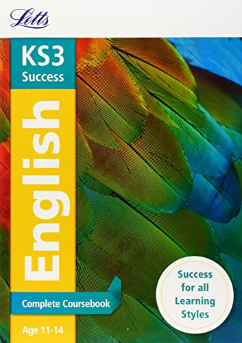 9781844197613: Letts Key Stage 3 Revision — English: Complete Coursebook