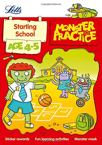 Starting School Age 4-5 (Letts Monster Practice): Hempstock, Becky; Medcalf, Carol