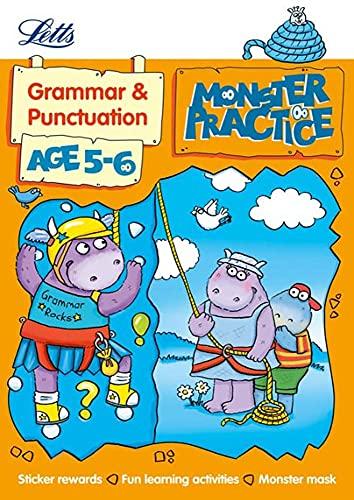 Letts Monster Practice - Grammar Age 5-6: Letts Monster Practice