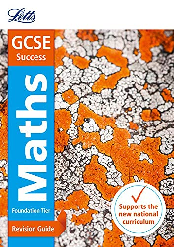 9781844198061: GCSE Maths Foundation: Revision Guide (Letts GCSE Revision Success - New 2015 Curriculum)
