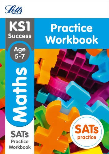 9781844198160: KS1 Maths SATs Practice Workbook: 2018 tests (Letts KS1 Revision Success)