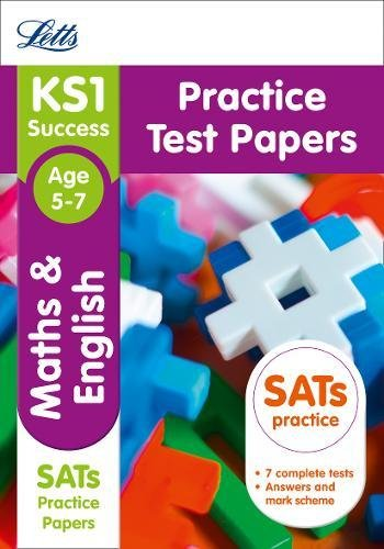 9781844198191: KS1 Maths and English SATs Practice Test Papers (Letts KS1 Revision Success - for the 2017 tests)