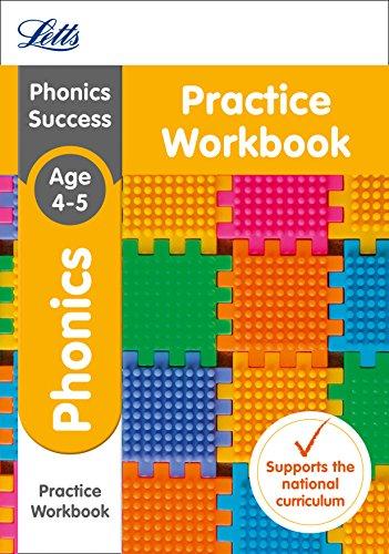 9781844198726: Letts Ks1 Revision Success - New 2014 Curriculum - Phonics Ages 4-5 Practice Workbook