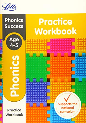 9781844198726: Letts KS1 Revision Success - New 2014 Curriculum – Phonics Ages 4-5 Practice Workbook (Letts KS1 Revision Success - New Curriculum)