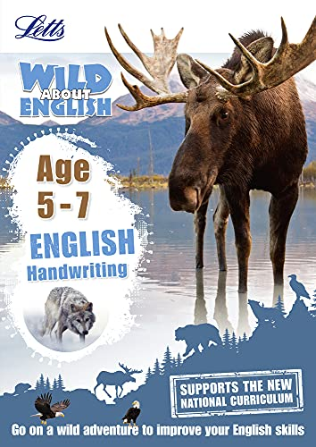 9781844198887: English ― Handwriting Age 5-7 (Letts Wild About)