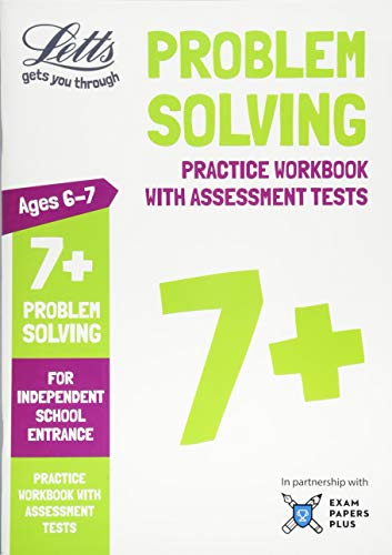 9781844199044: Letts Common Entrance Success – Letts 7+ Problem Solving - Practice Workbook with Assessment Tests: For Independent School Entrance