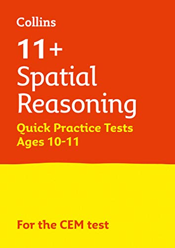 9781844199204: 11+ Spatial Reasoning Quick Practice Tests Age 10-11 for the CEM tests (Letts 11+ Success)