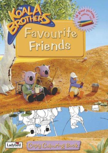 9781844224647: Favourite Friends (Koala Brothers)